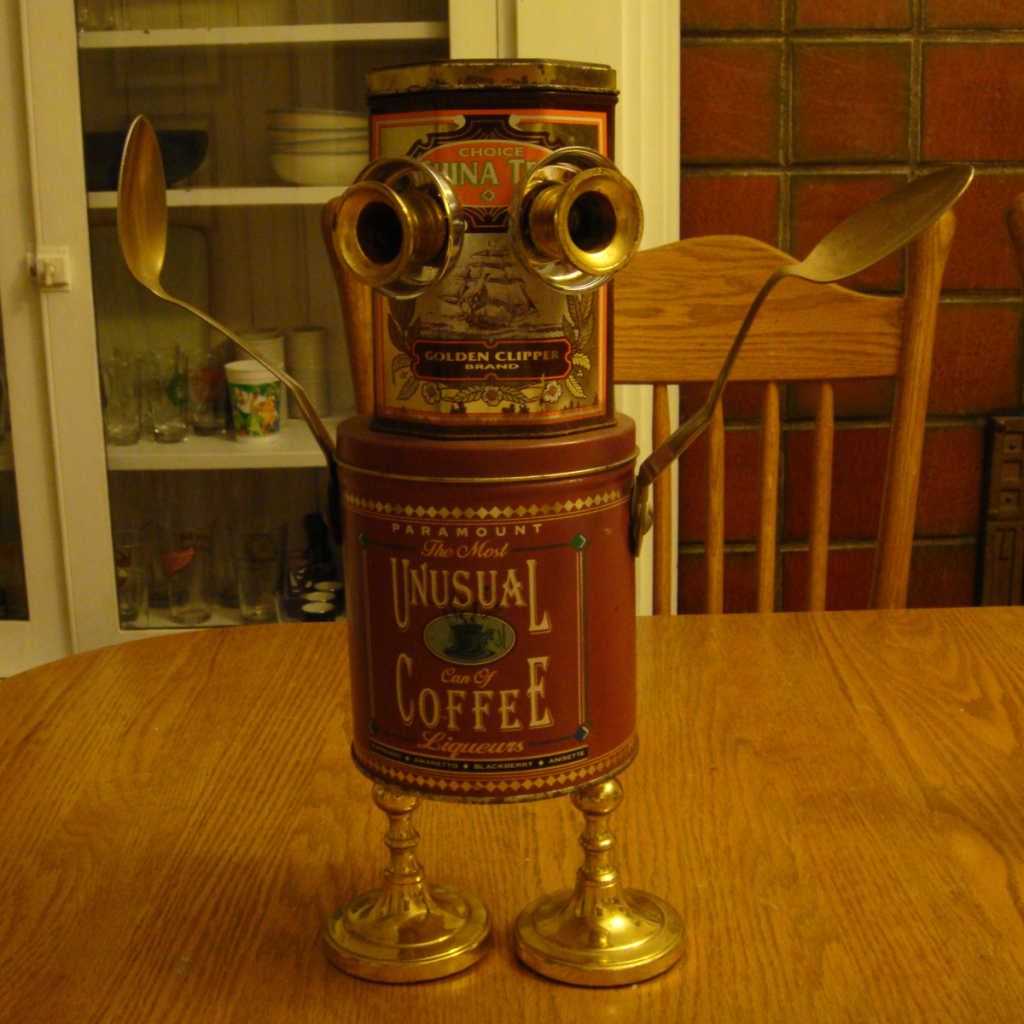 Coffee Can Robot