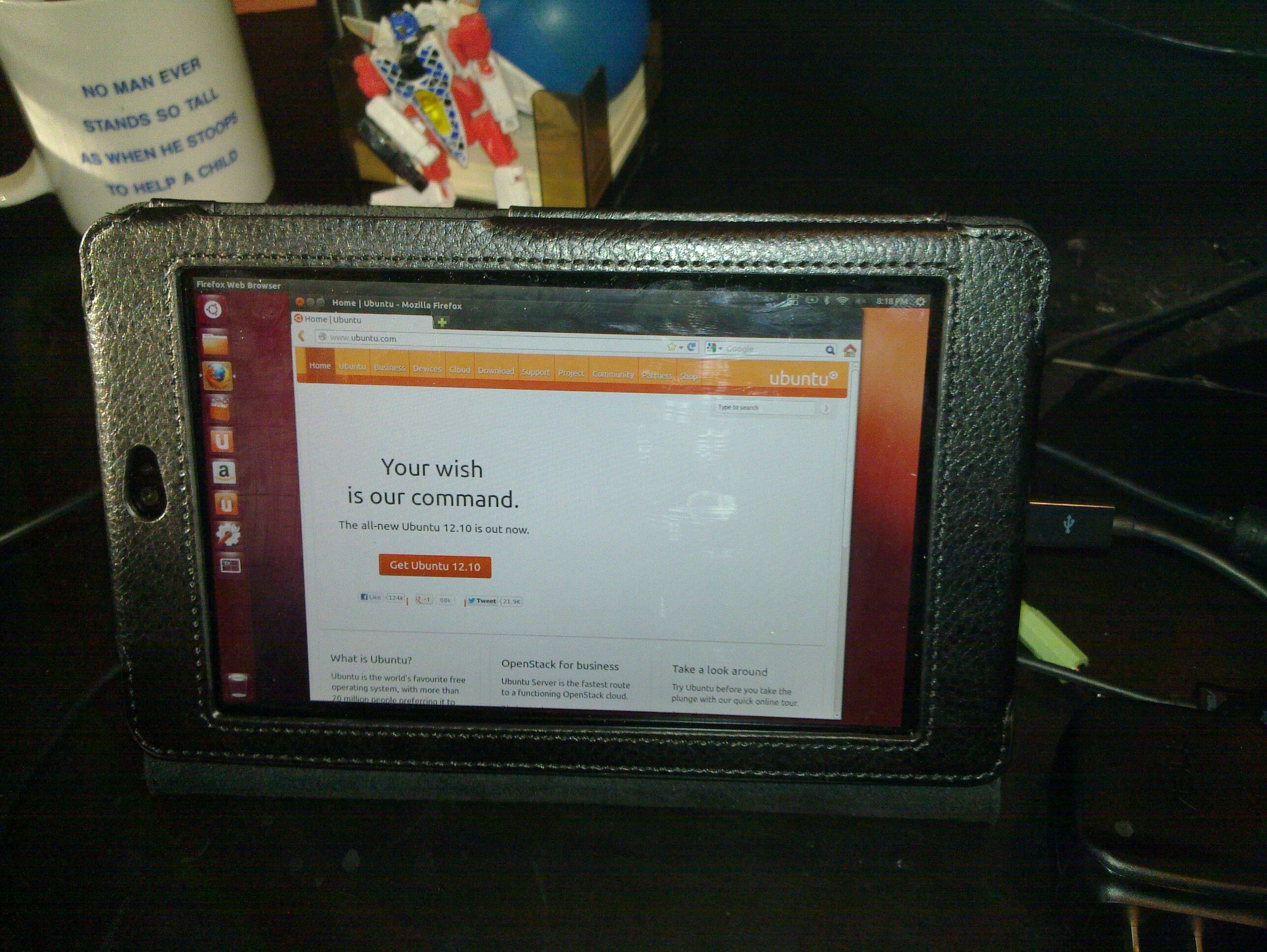 Ubuntu on Nexus 7
